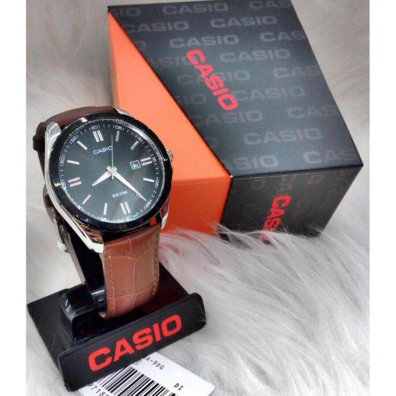 Brown Leather Strap with Black Dial Malaysia