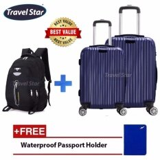 Compare ABS PC Glossy Protector with Hanger Luggage 20 inches ...