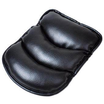 Harga Car Armrest Arm Rest Cushion Arm Support Pad (Black)
