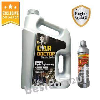 Car Doctor Classic Semi Synthetic 10W/40 API SN/CF Engine Oil (4 Liters)