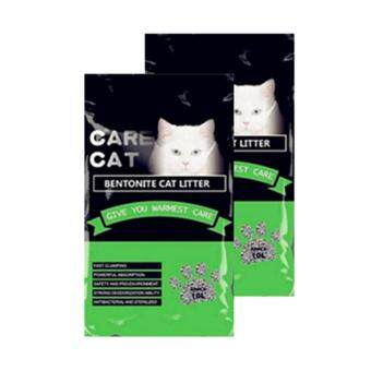 Care Cat Bentonite Cat Litter 10L Apple x 2