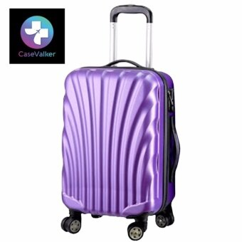"Harga CaseValker 24"" inches ABS Hard Case Shell Curve Shape Luggage(Purple)"