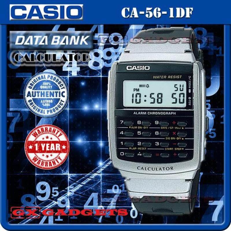 CASIO CA-56-1 DATA BANK STANDARD DIGITAL CALCULATOR WATCH Malaysia