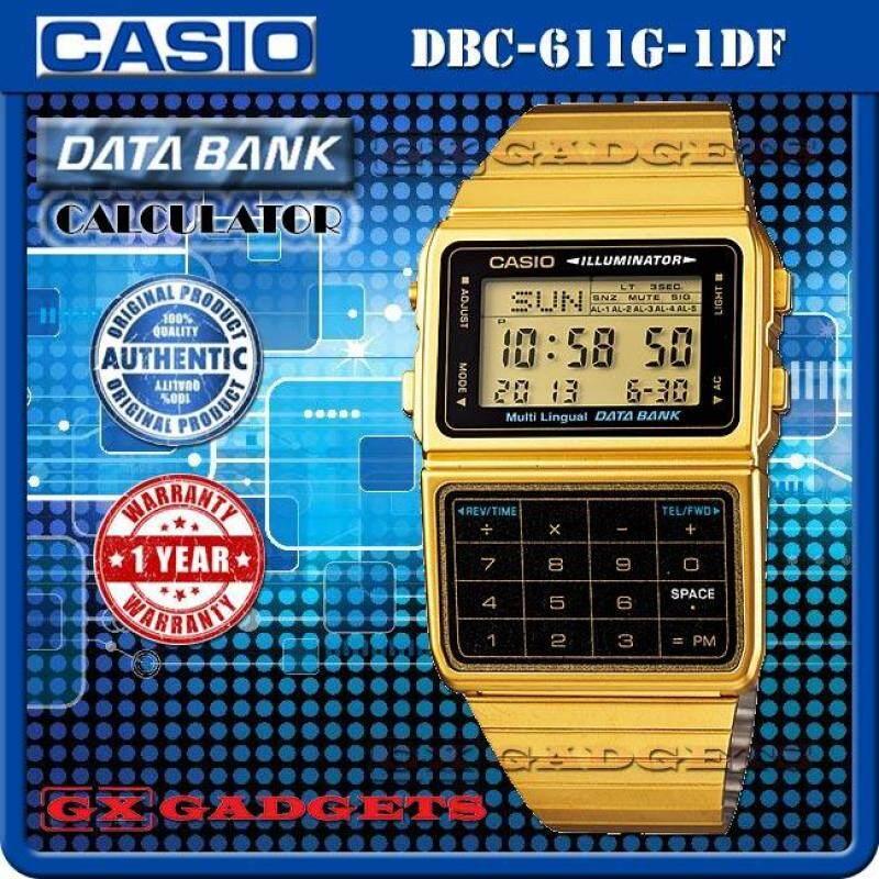 CASIO DBC-611G-1 DATA BANK STANDARD DIGITAL CALCULATOR WATCH Malaysia