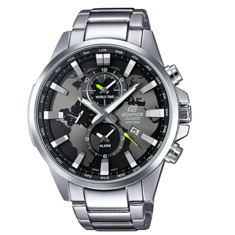 Casio Edifice 5406 (Siver & Blackish Grey) Malaysia