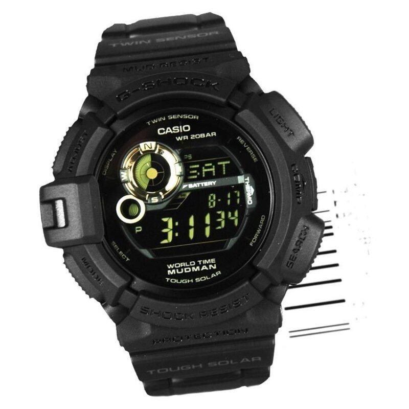Casio G-9300GB-1 Men G-Shock Mudman Solar Powered Watch G-9300GB-1DR G-9300GB-1D Malaysia
