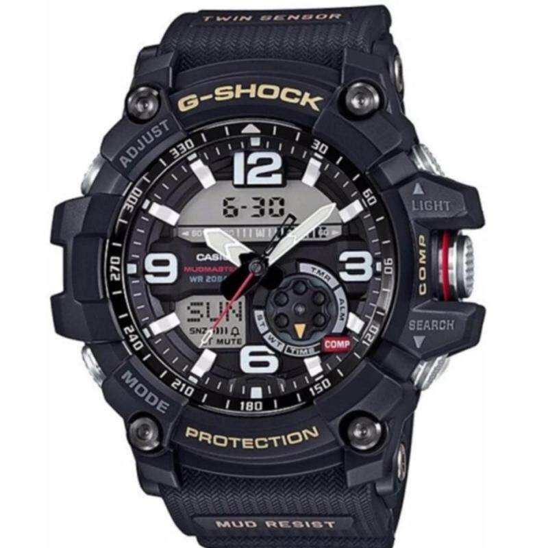 Casio G-shock Black Ana-Digi Dial Resin Band Watch - GG-100 Malaysia