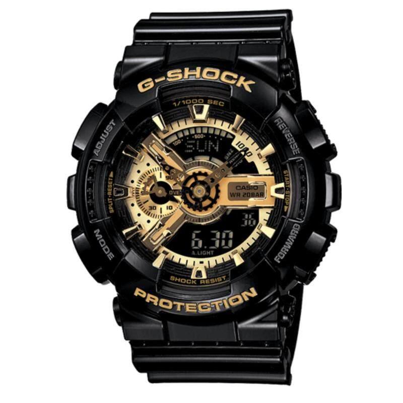CASIO G-SHOCK BLACK GOLD GA-110GB | Limited Model Malaysia