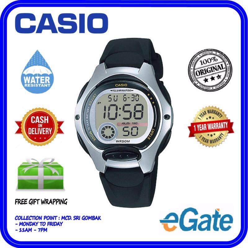 Casio LW-200-1A Digital Unisex Watch - Black Fashion Original Malaysia