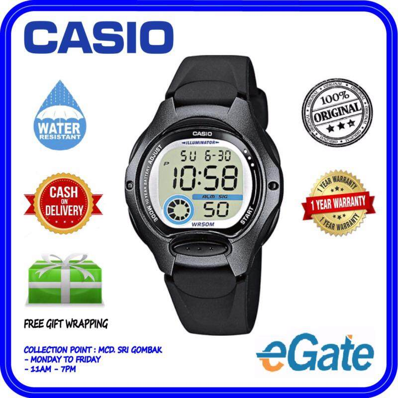 Casio LW-200-1B Digital Unisex Watch - Black Fashion Original Malaysia