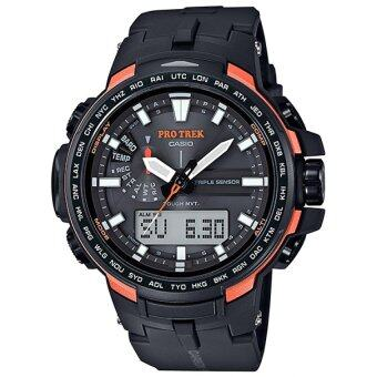 Harga CASIO PRO-TREK PRW-6100Y-1 TRIPLE SENSOR WATCH