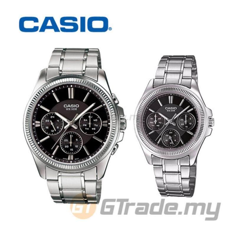 CASIO STANDARD MTP-1375D-1AV & LTP-2088D-1AV Analog Couple Watch Malaysia