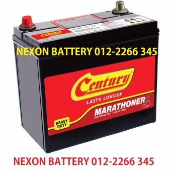 Harga Century Marathoner NS60L Car Battery (With Delivery andInstallation)