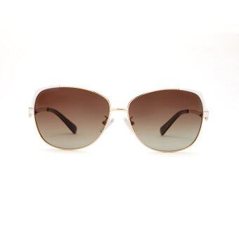 COASTAL VISION Polarized Women Gold sunglasses Oversize anti UVA/B lenses CVS5106 - 2