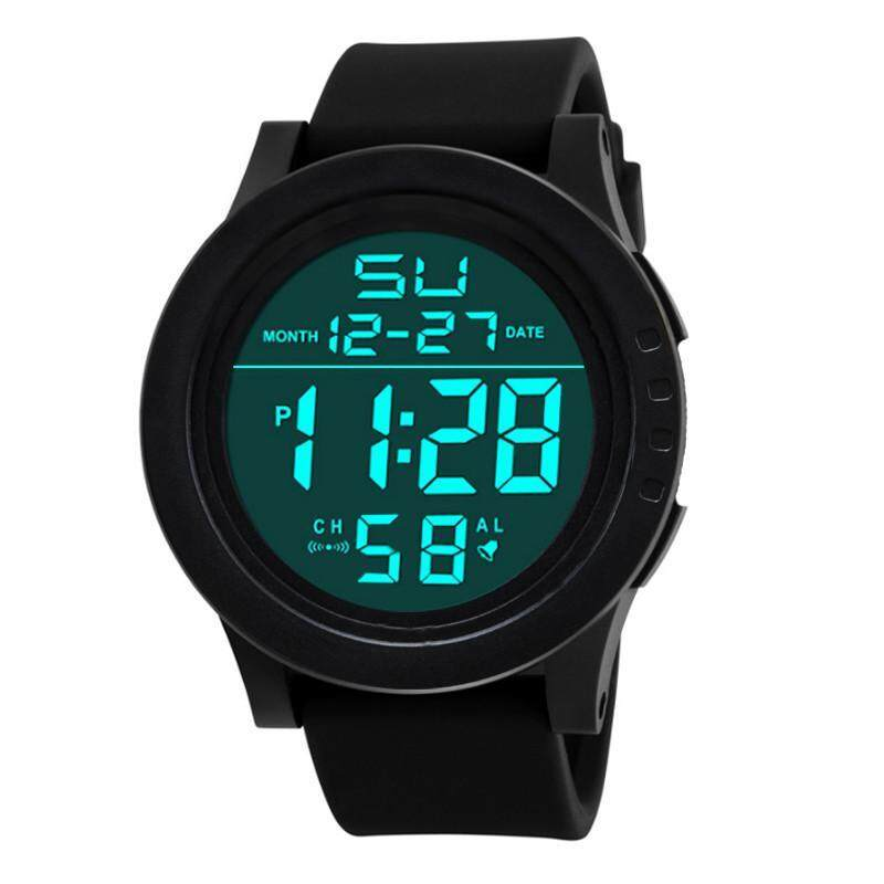 CocolMax LED Waterproof Digital Quartz SKMEI Fashion Watch Military Sport Mens Malaysia