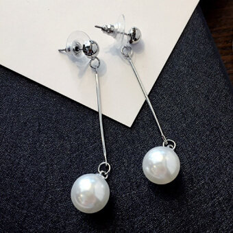 Cool female elegant New style earrings pearl earrings