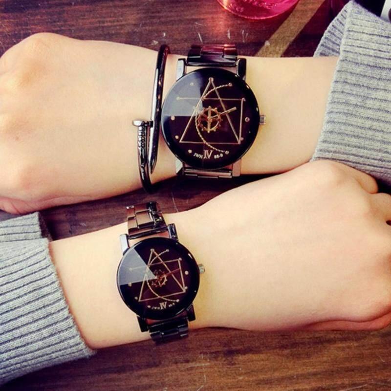 COUPLE lovers watch Luxury Design Quartz Wrist Watch Unisex Malaysia