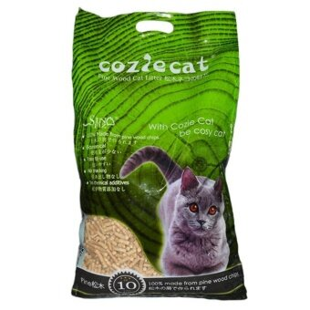 Harga CozieCat Pine Wood Cat Litter 10L