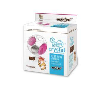 Crystal Hamster Running Ball 12CM PINK