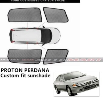 Custom Fit OEM Sunshades/ Sun shades for Proton Perdana - 4pcs