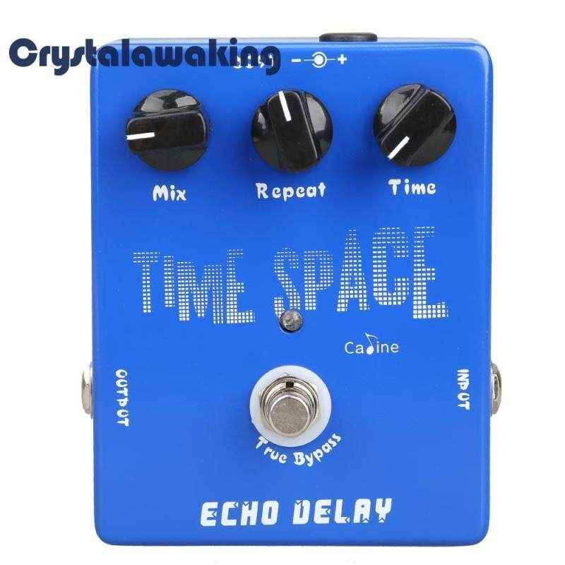 Delay Guitar Pedals CP-17 Echo Delay True Bypass Blue 600ms Max Malaysia