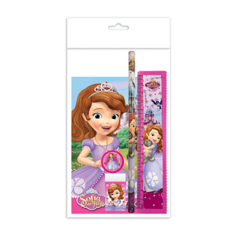Disney Princess Sofia Stationery Set - Purple Colour