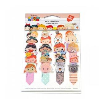 Harga Disney Tsum Tsum 32pcs Bookmark Sticker - Princess