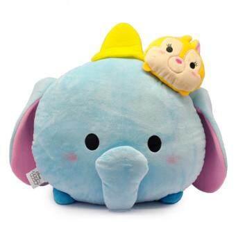 Disney Tsum Tsum Two Head Cushion - Dumbo & Miss Bunny