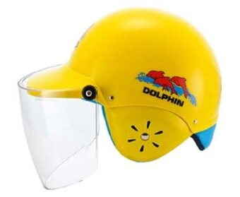 Dolphin Children Helmet (Yellow)