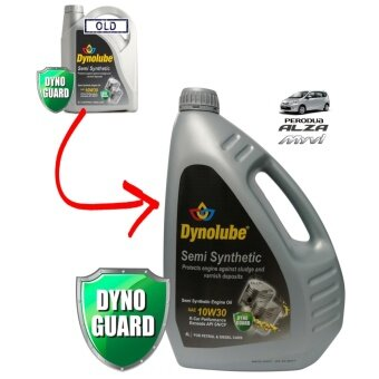 Dynolube 10W30 SN/CF Semi Synthetic 4Liter Engine Oil
