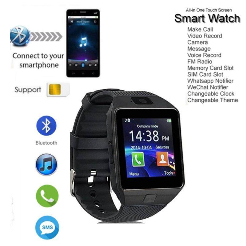 DZ09 Bluetooth SmartWatch With Built In Sim Card & Camera For Android Malaysia