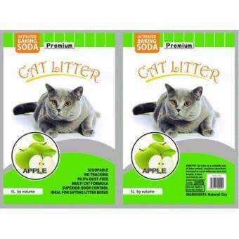 Harga ECO Cat Litter 5L Apple x 1