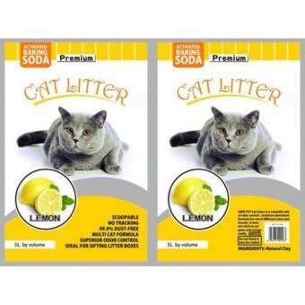 Harga ECO Cat Litter 5L Lemon x 1