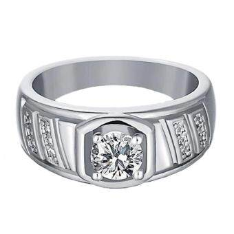 Harga Elfi 925 Genuine Silver Engagement Ring R15 - The Noble King