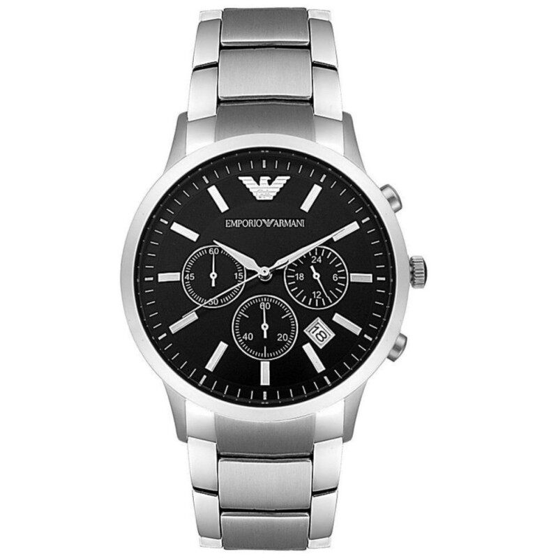 Emporio Armani Mens Chronograph Stainless Steel Watch AR2434 Malaysia