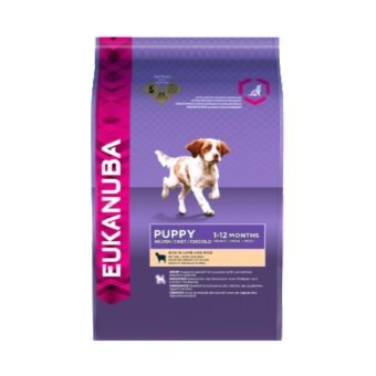 Eukanuba Natural Puppy Lamb & Rice Formula Dry Dog Food 12Kg