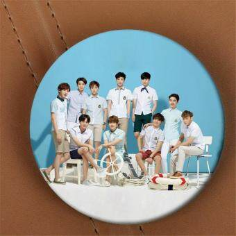 Harga EXO EXO-K EXO-M LAY BAEKHYUN DO Album Brooch K-POP Pin BadgeAccessories