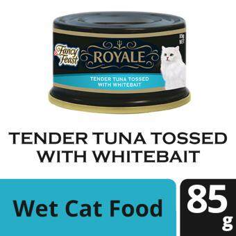 FANCY FEAST(R) ROYALE Tender Tuna Tossed With Whitebait Wet Cat Food Can (1 Can of 85g)