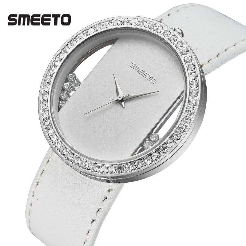 Fast selling trend of high-end Ladies watches superior waterproof table manufacturers to produce Korean version of the hollowed out diamond table Malaysia