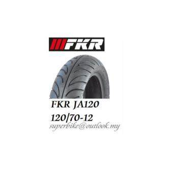 Harga FKR JA120 120/70-12 Tubeless Scooter Tyre