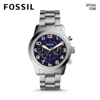 FOSSIL PILOT 54 CHRONO STAINLESS STEEL WATCH