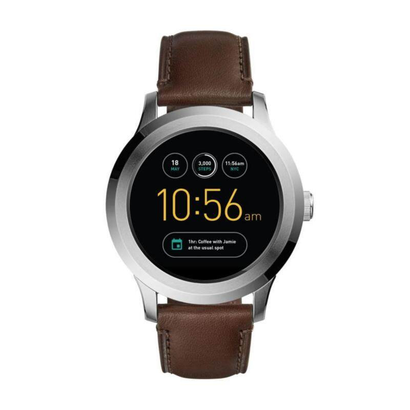 FOSSIL Q FOUNDER BROWN LEATHER SMART WATCH Malaysia