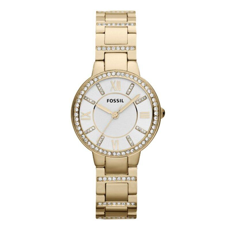 Fossil Women Virginia Gold Tone Stainless Steel Watch ES3283 Malaysia