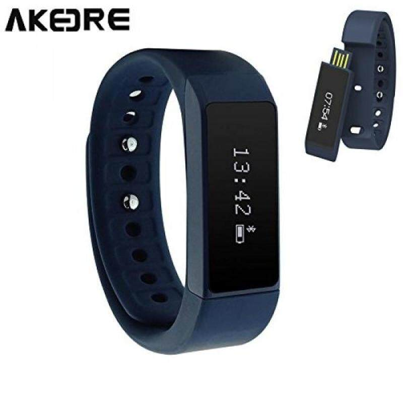 From USA AKEDRE® Smart Bracelet Fitness Tracker Sport Wrist Bluetooth 4.0 Pedometer Tracking Calorie Health Sleep Monitor Wristband for Android IOS 7.0 8.0 8.1 Iphone 4s/5s/6/6 Plus Malaysia