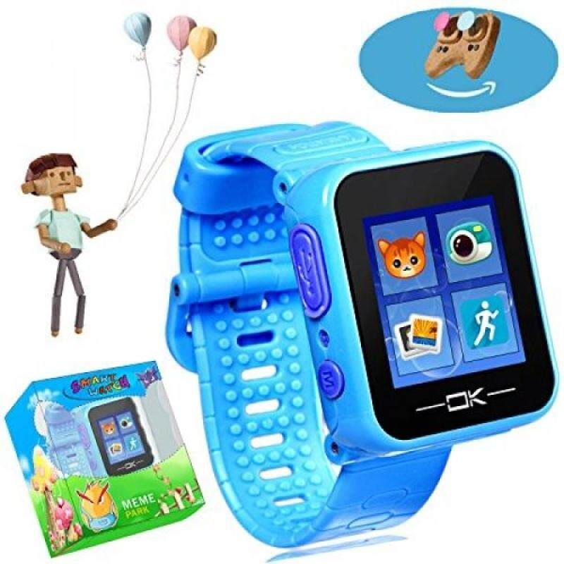 From USA Game Smart Watch with Virtual Cyber Pet Camera, Games Pedometer Timer Alarm Clock Toy Wrist Watch Electronic Learning Christmas Gifts for Kids Children Boys Girls for 3+ (Sky Blue) Malaysia