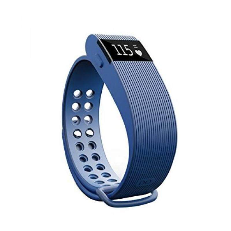 From USA Joranlin ID105 Intelligent Healthy Smart Bracelet Bluetooth with Heart Rate Monitor Anti Lost Wake-up Sleep Monitor Call Reminder (Blue) Malaysia