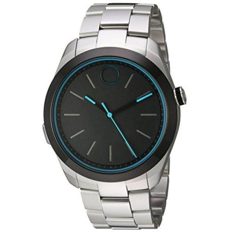 From USA Movado Swiss Quartz Stainless Steel Smart Watch, Color: Silver-Toned (Model: 3660003) Malaysia