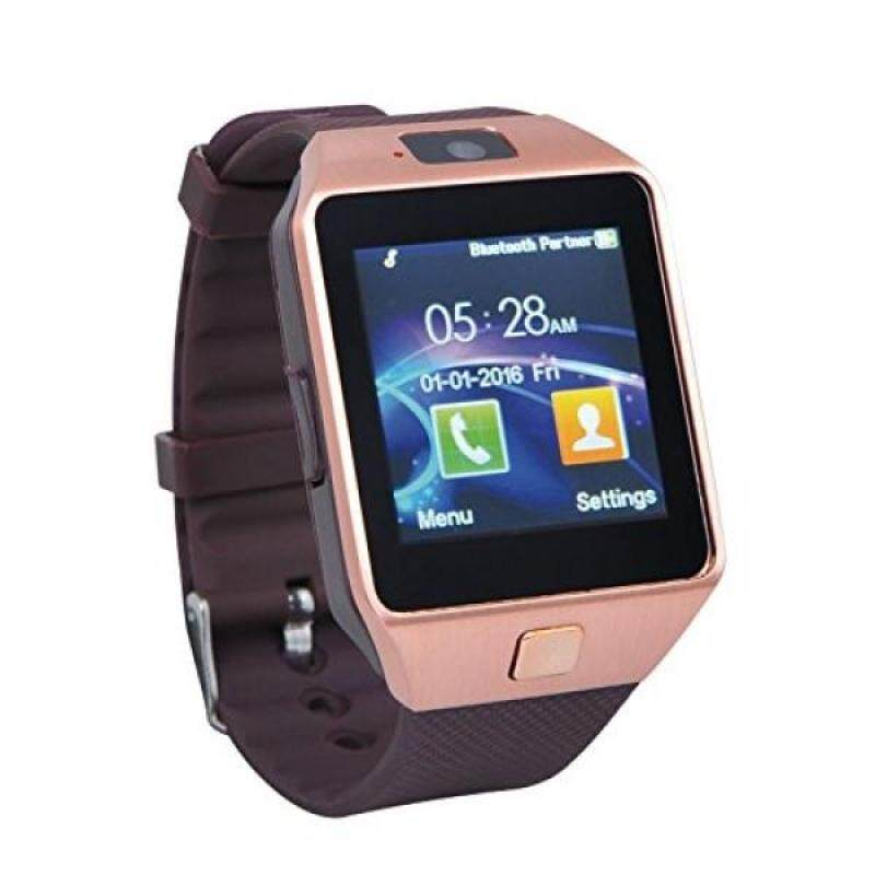 From USA Proscan PBTW360-RSGOLD Bluetooth Camera Smart Watch, Gold Malaysia
