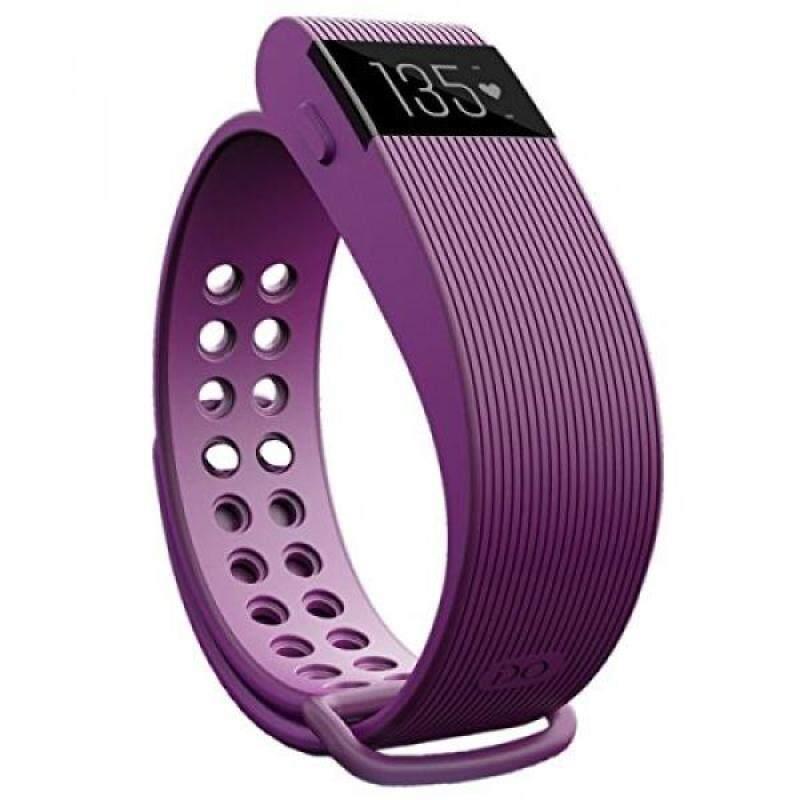 From USA TKOOFN Waterproof Smart Bracelet with Heart Rate Monitor Fitness Sleep Tracker Bluetooth Sports Wrist Bracelet Purple Malaysia