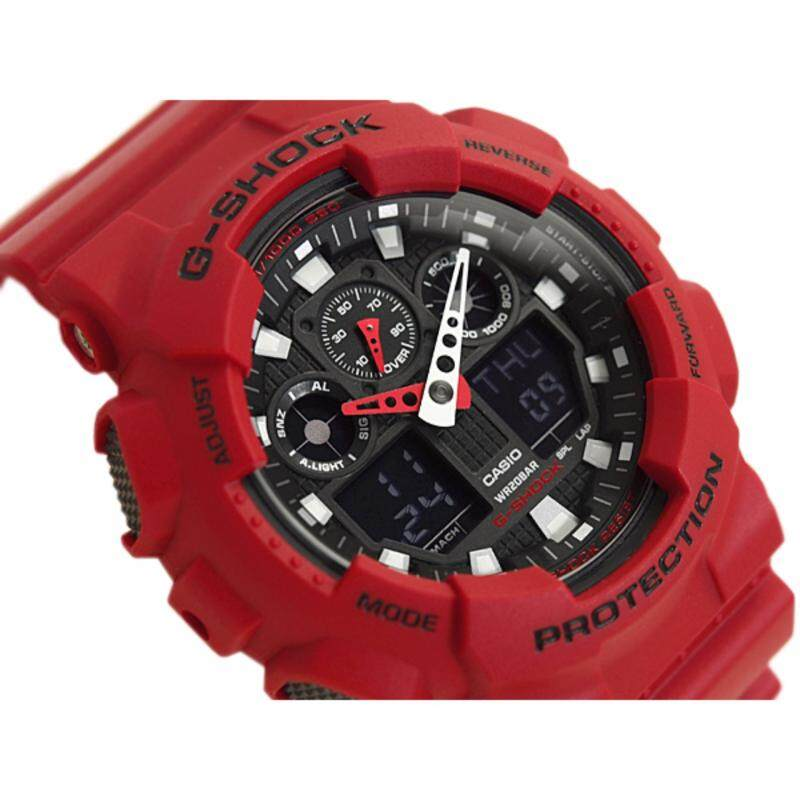 G SHOCK ANALOG RED COLOR WATCH Malaysia